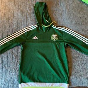 Adidas Portland timbers hoodie